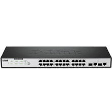 D-Link DES-1026G 24-Port Fast Ethernet Unmanaged Switch with 2 Gigabit Ports